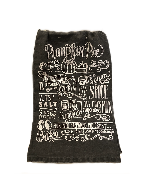 Pumkin Pie Dish Towel