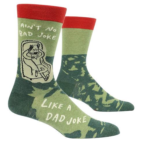 Ain't No Bad Joke Like a Dad Joke Men's Socks