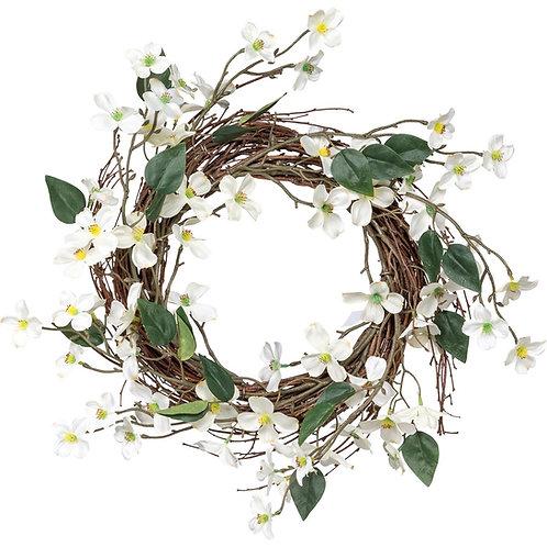 Dogwood Blossom Wreath