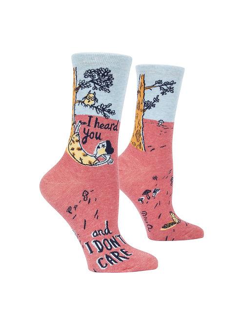I Heard You Women's Socks