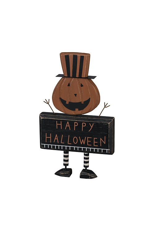 Happy Halloween Jack-O-Lantern Chunky Sitter