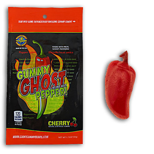 Giant Gummy Ghost Pepper
