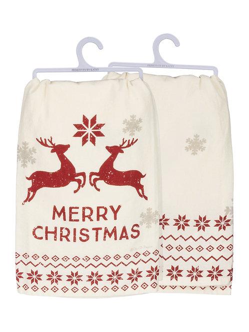 Merry Christmas DishTowel