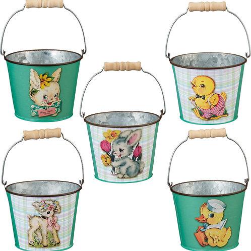 Easter Tin Bucket