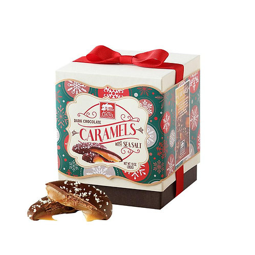 Holiday Dark Chocolate Salted Caramel Box