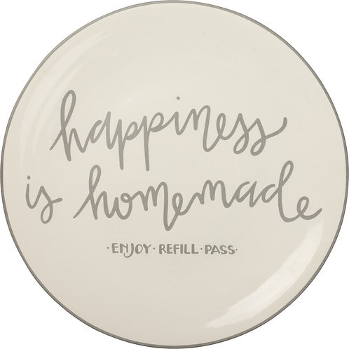 Happiness is Homemade Plate