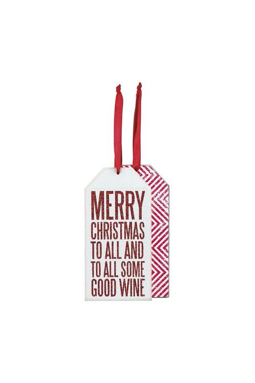 Good Wine Bottle Tag
