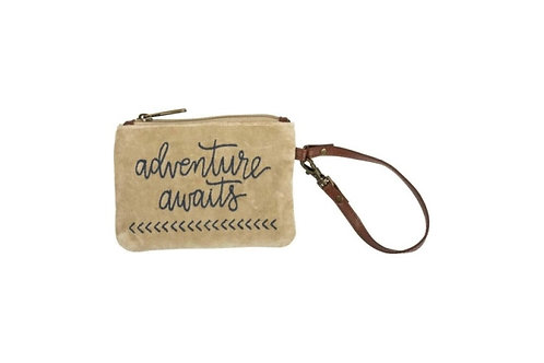 Adventure Awaits Wristlet