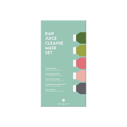 Raw Juice Cleanse Mask Set