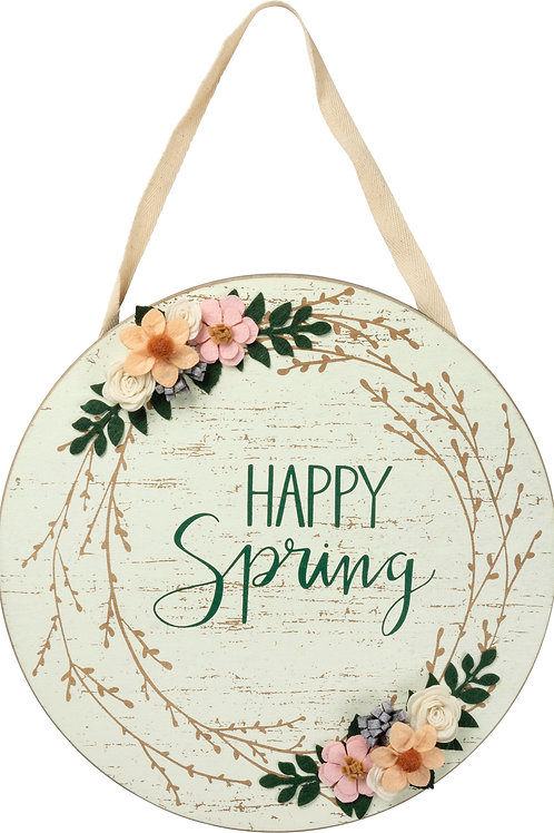Happy Spring Wall Decoration