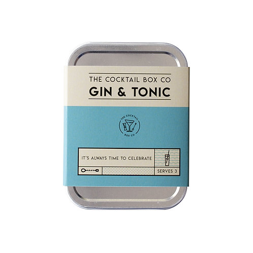 Gin & Tonic Cocktail Tin Kit