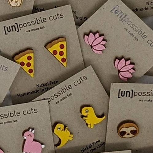 Unpossible Cuts Earrings
