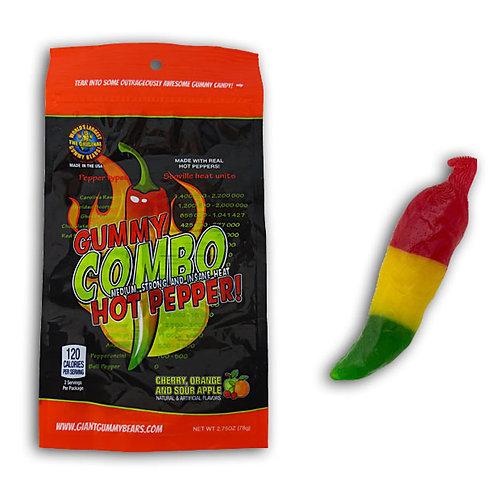 Giant Gummy Combo Hot Pepper