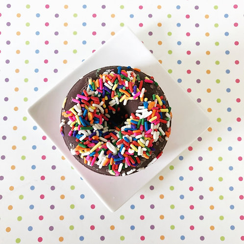 Chocolate Strawberry Doughnut Bath Bomb