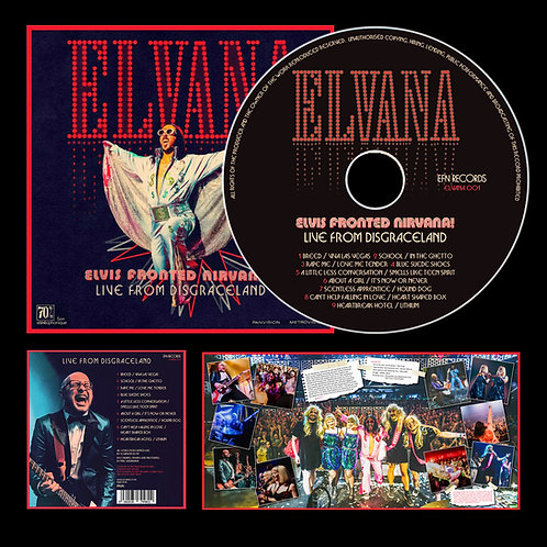 CD - LIVE FROM DISGRACELAND