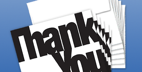 11011P: (6-Pack) A Simple Thank You