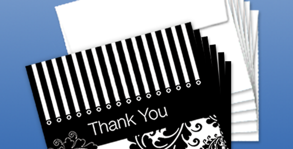 11012P: (6-Pack) A Thank You With Style