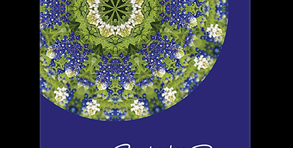 09057: Mandala Bluebonnets, Get Well Soon