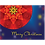 Thumbnail: 11097: Christmas Poinsettia Mandala, Glow Background