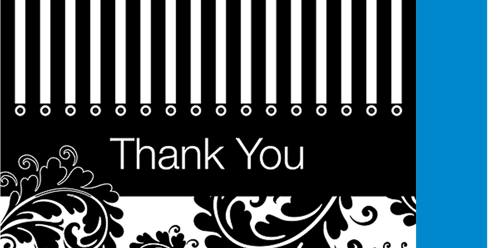 11012: A Thank You With Style