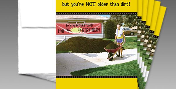 09051P: (6-Pack) Milestone Birthday
