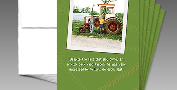 09009P: Willy's Generous Birthday Gift
