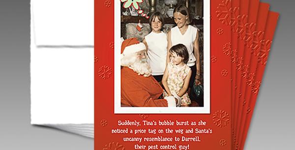 09029P: (6-Pack) Santa Bubble Burst