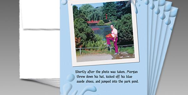 09004P: (6 Pack) Morgan's Birthday Park Pond Jump