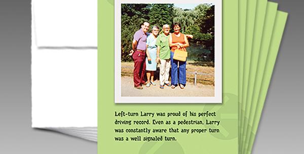 09003P: (6-Pack) Left-Turn Larry's Proper Birthday