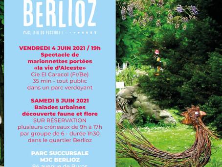 4 et 5 juin : Rendez-vous aux jardins à Berlioz