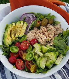 Summer Tuna Avocado Salad