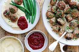 Midsummer Buffet: Meatballs