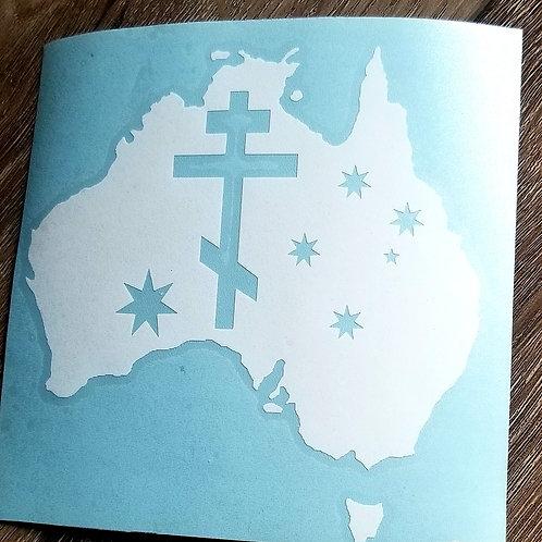 Orthodox Australia Decal