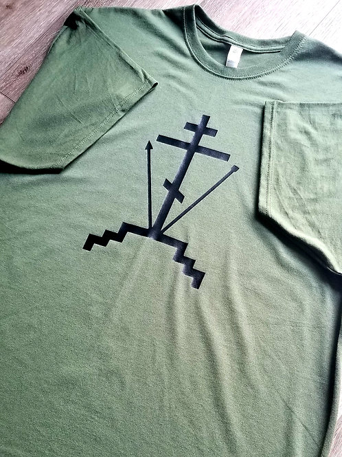Three Bar Cross T-Shirt