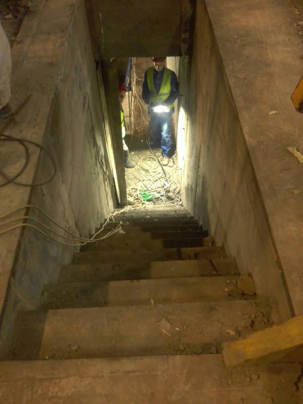 6 Лестница после бетонирования