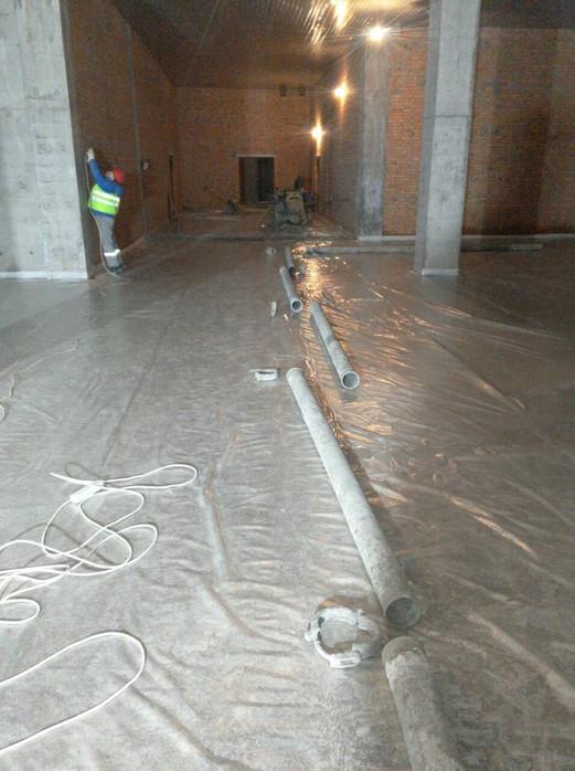Трасса бетоноводов