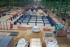 Фундаменты для металлургического производства V=6 624 м3