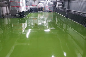 Полимерное покрытие на производстве пива S=770м2