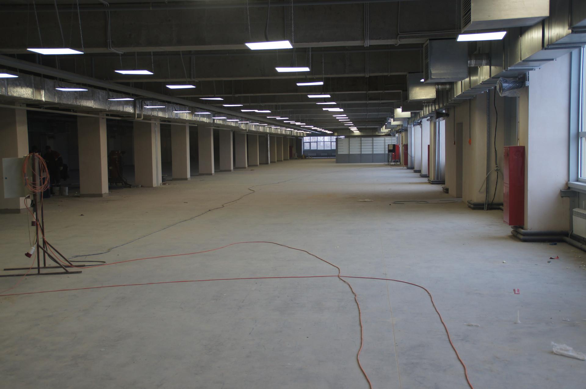 Топпинговый пол 3-го этажа