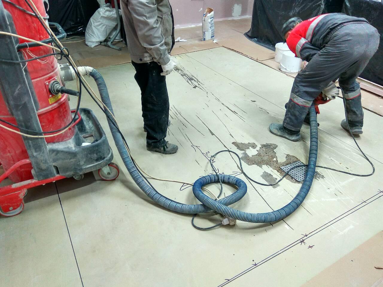 Снятие старого покрытия