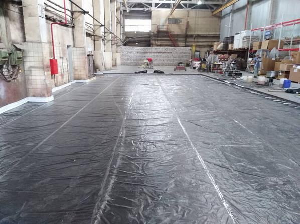 4 Подготовка каты к бетонированию