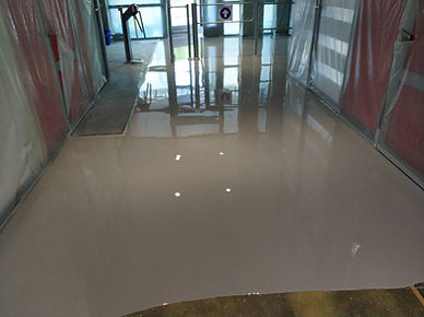Наливное полимер-цементное покрытие (