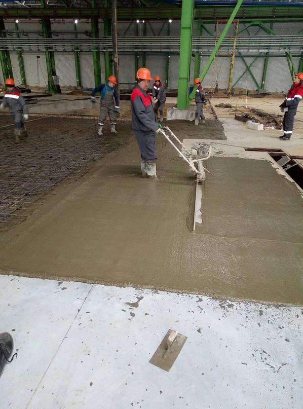 14 Вибрирование бетона
