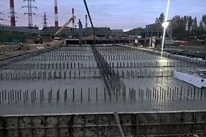 Фото работ на строящимсе комплексе МТС