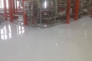 Устройство полимерного покрытия для химического производства S=700 м2