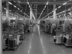 Полимерное покрытие на фабрике