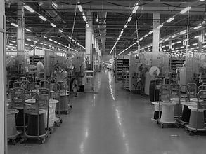 Полы для предприятий легкой промышленности