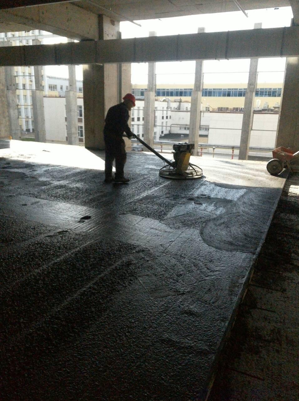 Первичная обработка бетона