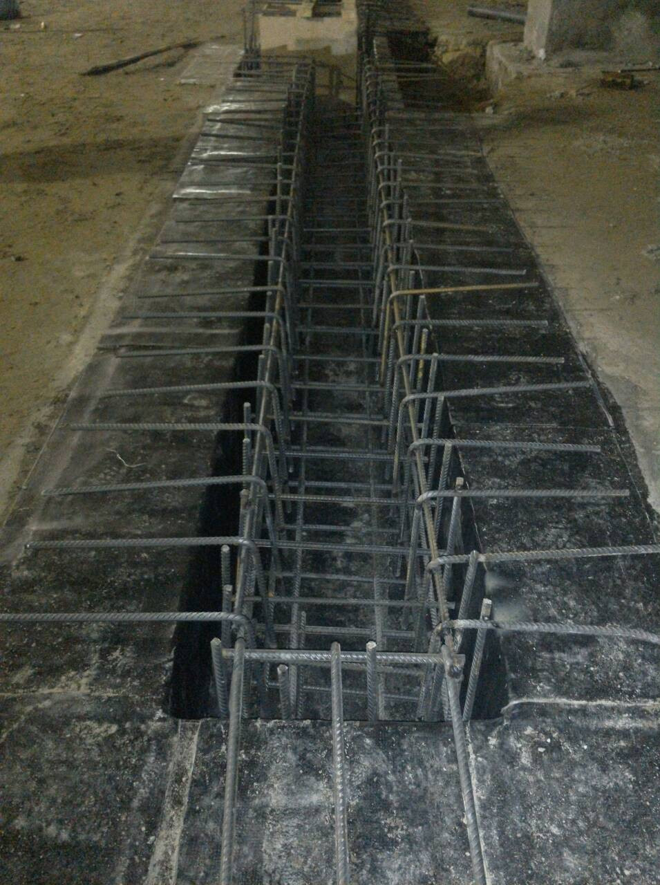 Армирование водоотводных каналов