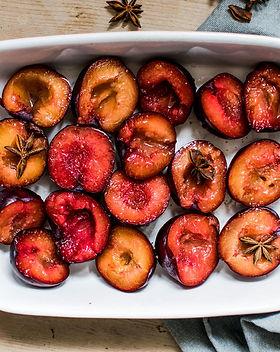 Marinated Peaches
